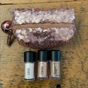 NWOT MAC Glitter Set with Bag